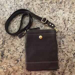 Coach Leather Crossbody NWOT